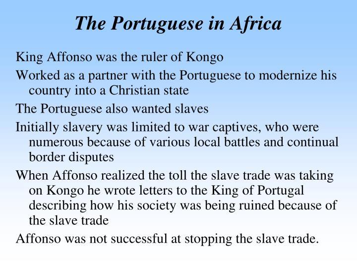The Portuguese in Africa