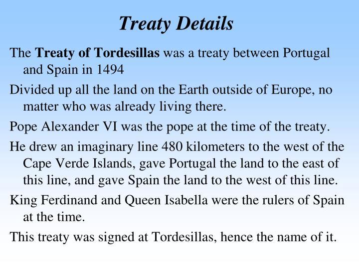 Treaty Details