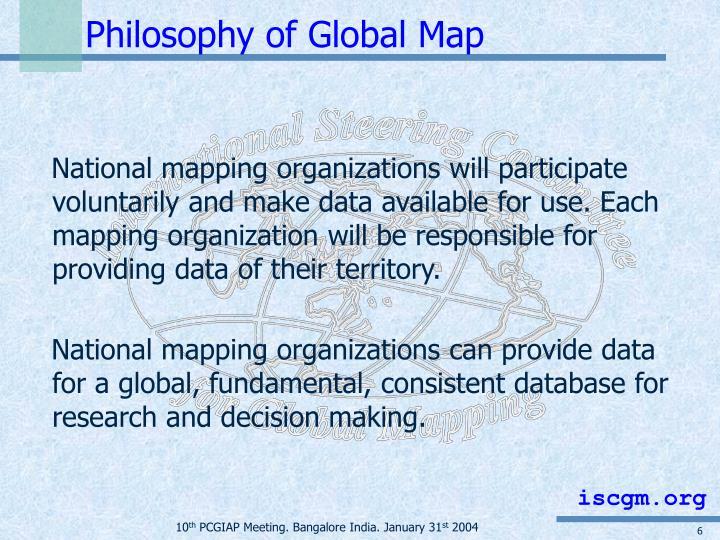Philosophy of Global Map