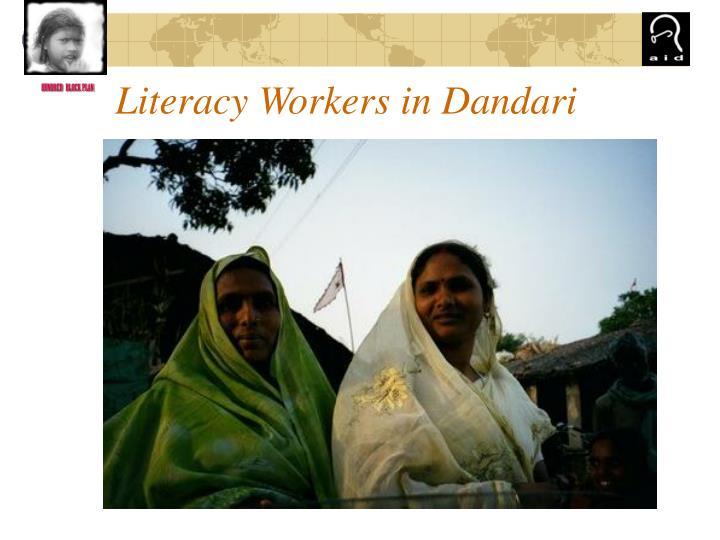 Literacy Workers in Dandari