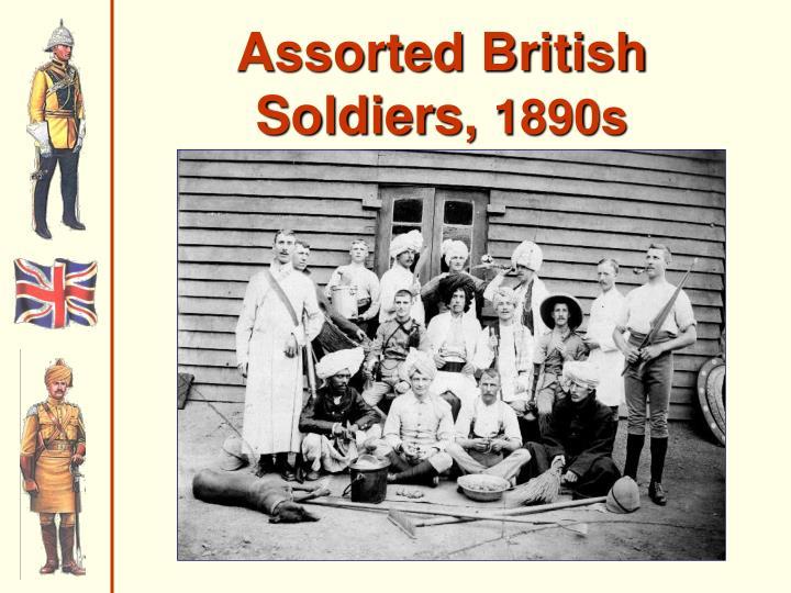 Assorted British Soldiers,