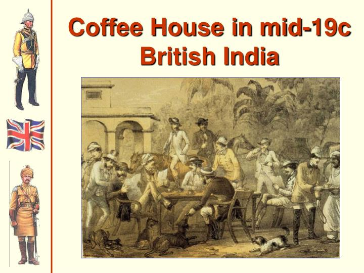 Coffee House in mid-19c
