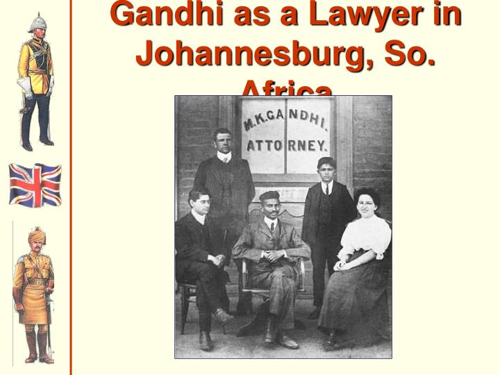 Gandhi as a Lawyer in