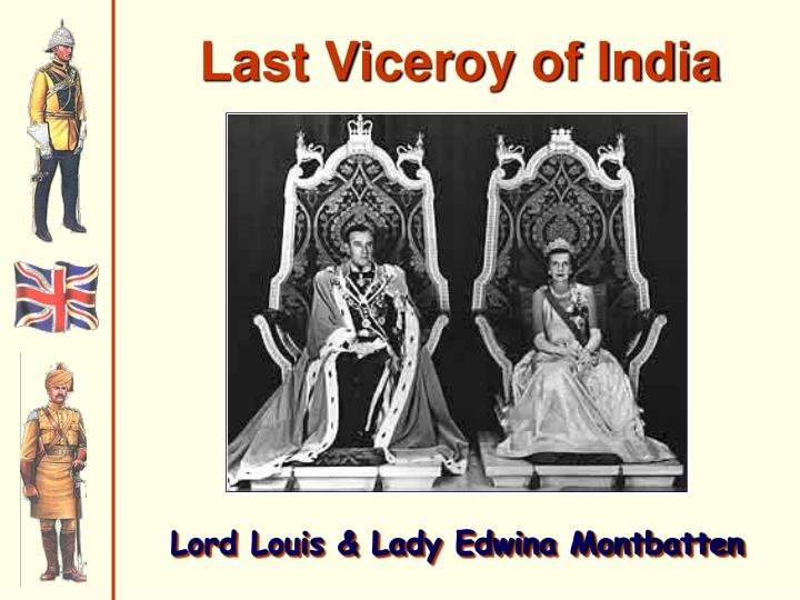 Last Viceroy of India