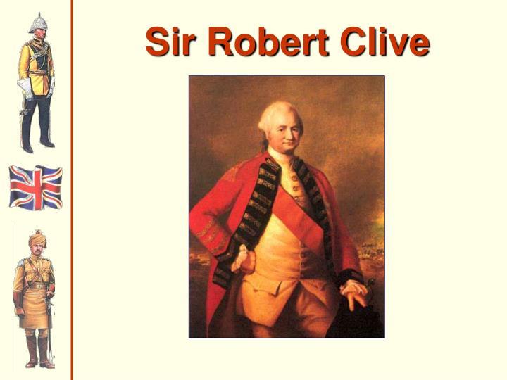 Sir Robert Clive