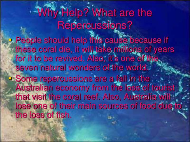 Why Help? What are the Repercussions?