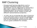nmf clustering