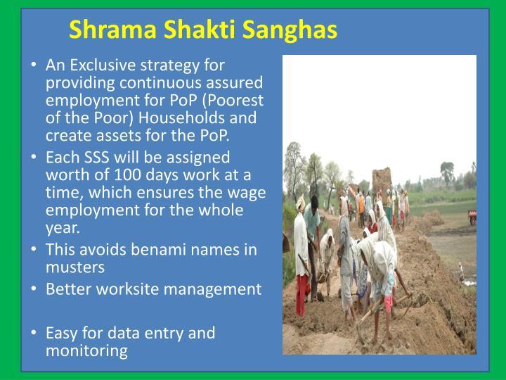 Shrama Shakti Sanghas