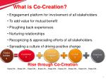 what is co creation
