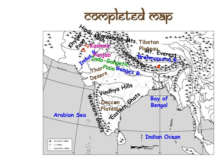 Completed Map