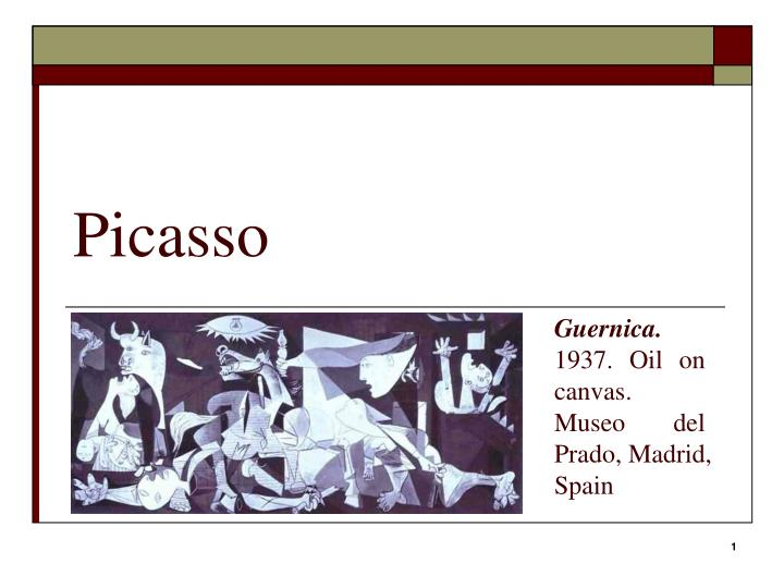 picasso n.