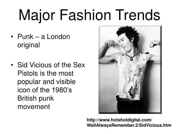 Major Fashion Trends