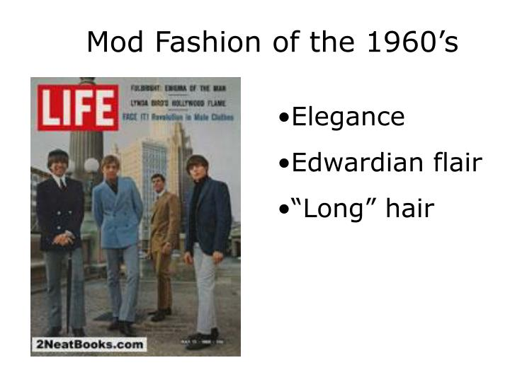 Mod Fashion of the 1960's