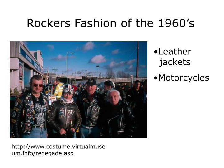 Rockers Fashion of the 1960's