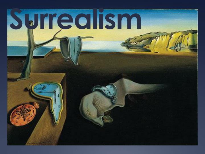 surrealism n.