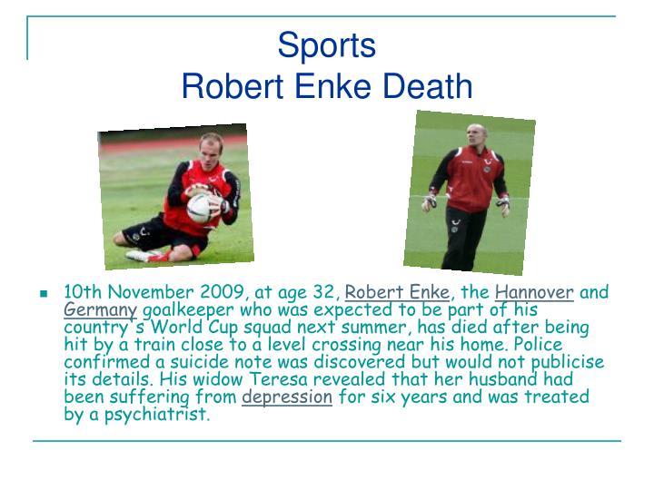 Sports robert enke death
