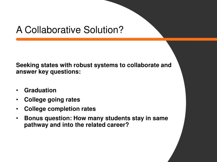 A Collaborative Solution?