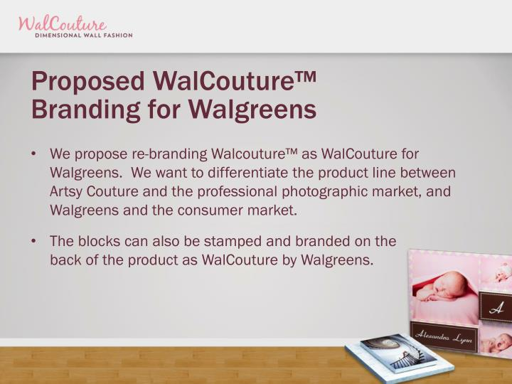 Proposed WalCouture™