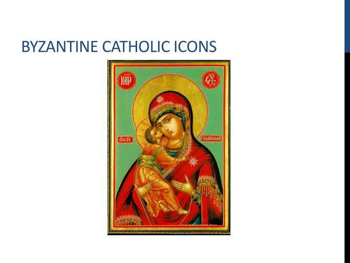 Byzantine Catholic Icons