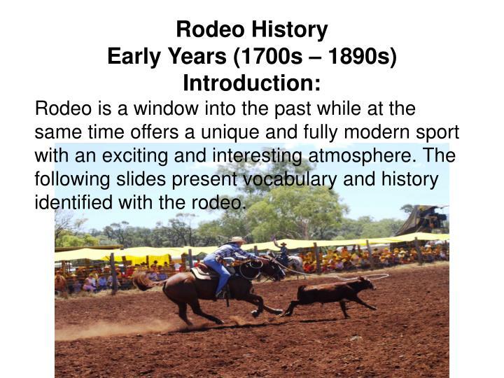 RodeoHistory
