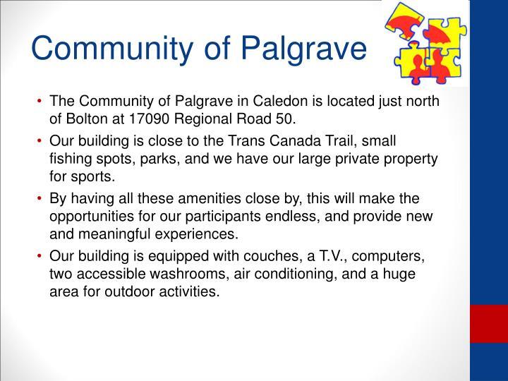 Community of Palgrave