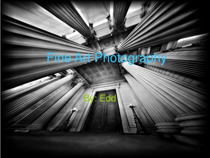 fine art photography n.