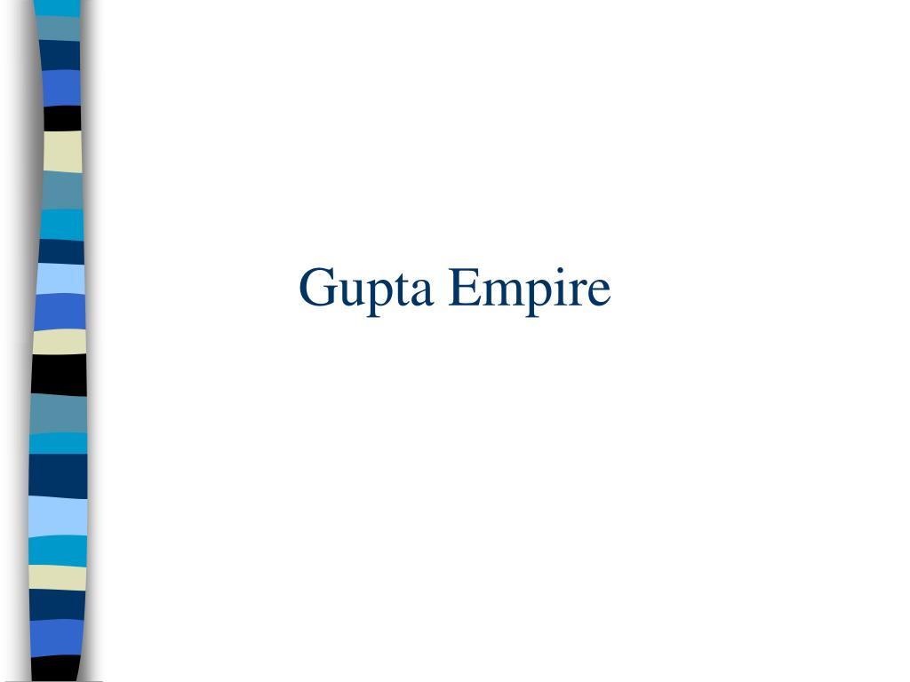 compare and contrast mauryan and gupta empires
