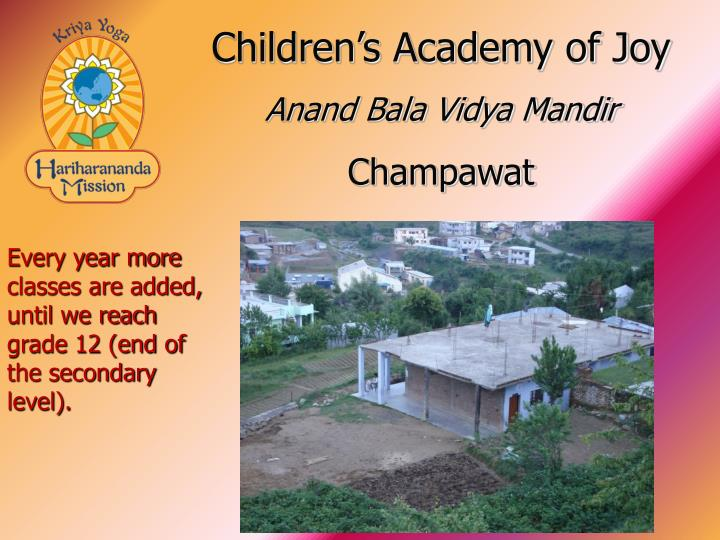 Children's Academy of Joy