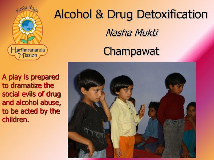 Alcohol & Drug Detoxification