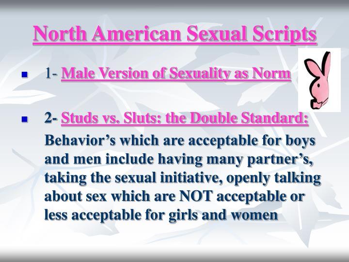 North american sexual scripts