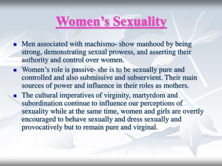 Women s sexuality