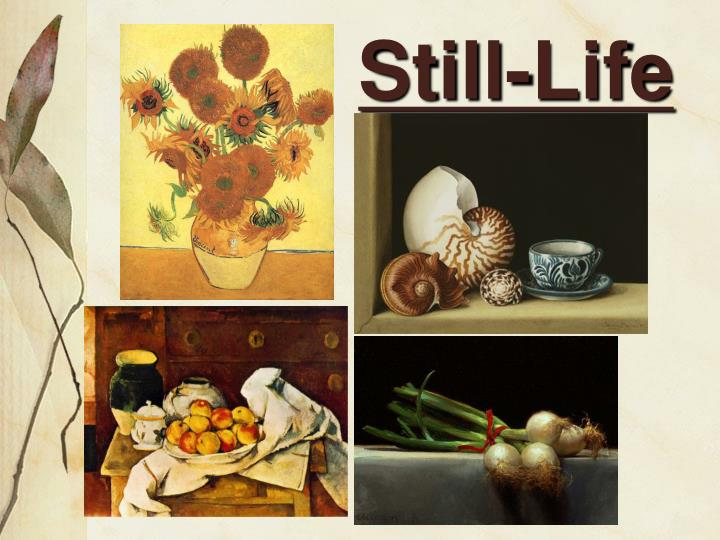 still life n.