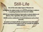 still life1