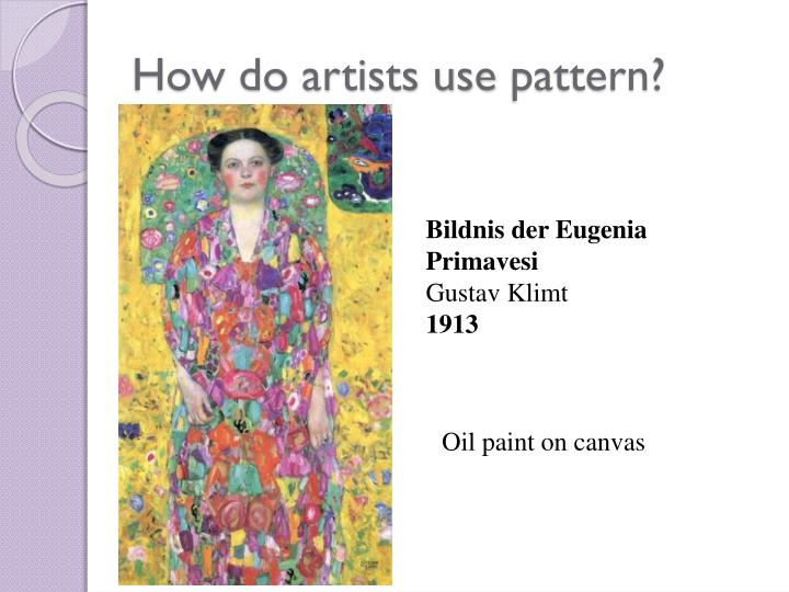 How do artists use