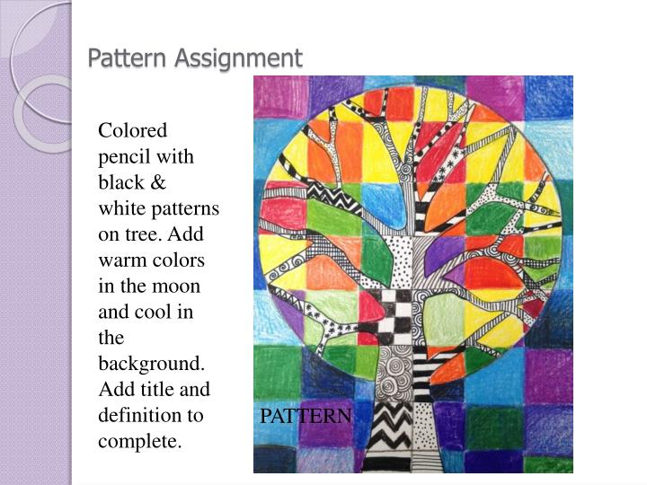 Pattern Assignment