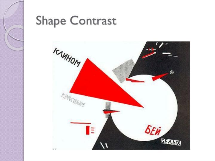 Shape Contrast