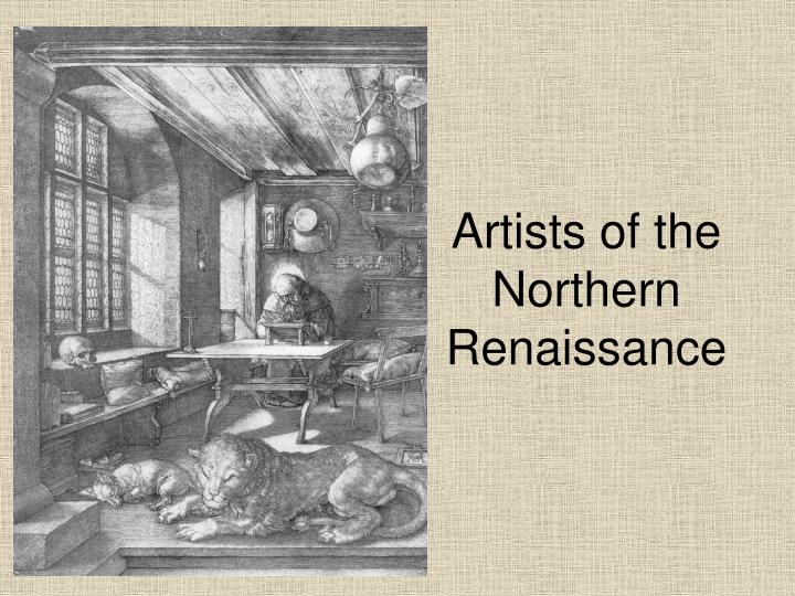 artists of the northern renaissance n.