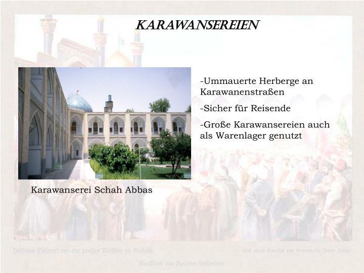 Karawansereien