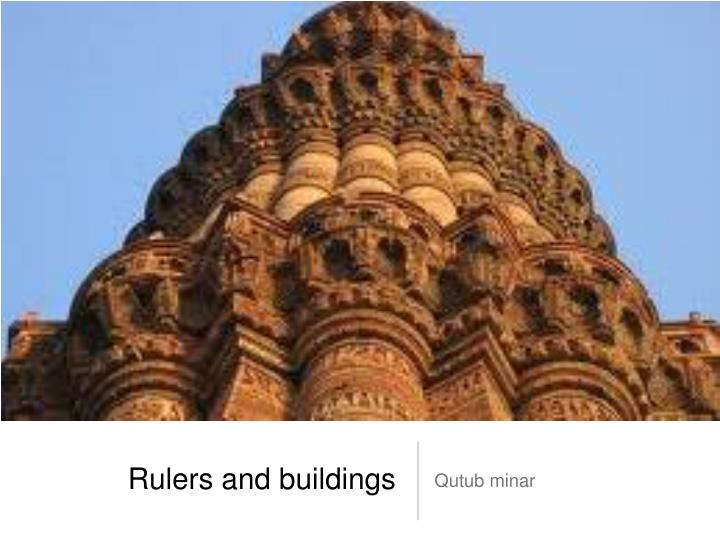 rulers and buildings n.