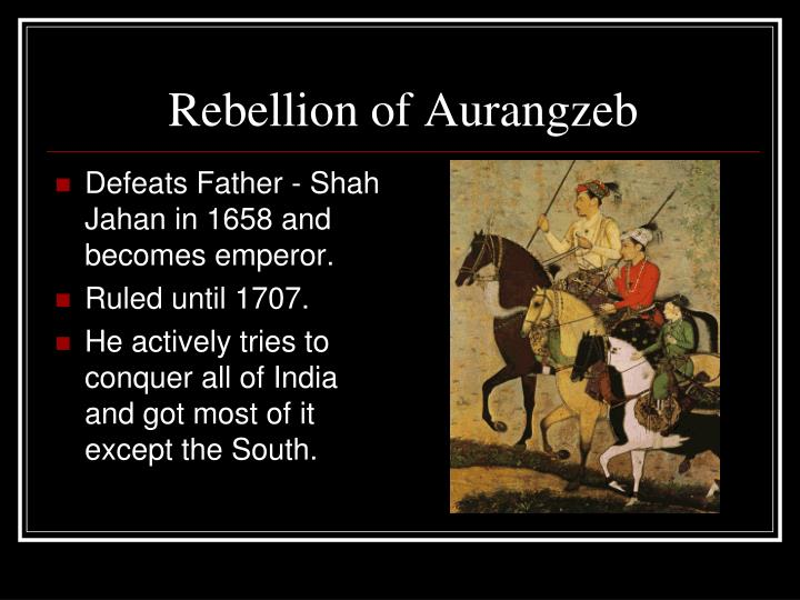 Rebellion of Aurangzeb