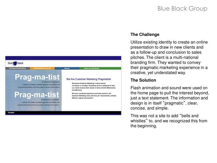 Blue Black Group