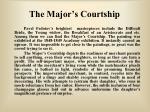 the major s courtship