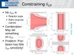 constraining d cp