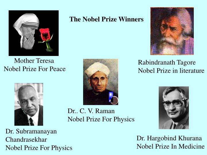 The Nobel Prize Winners