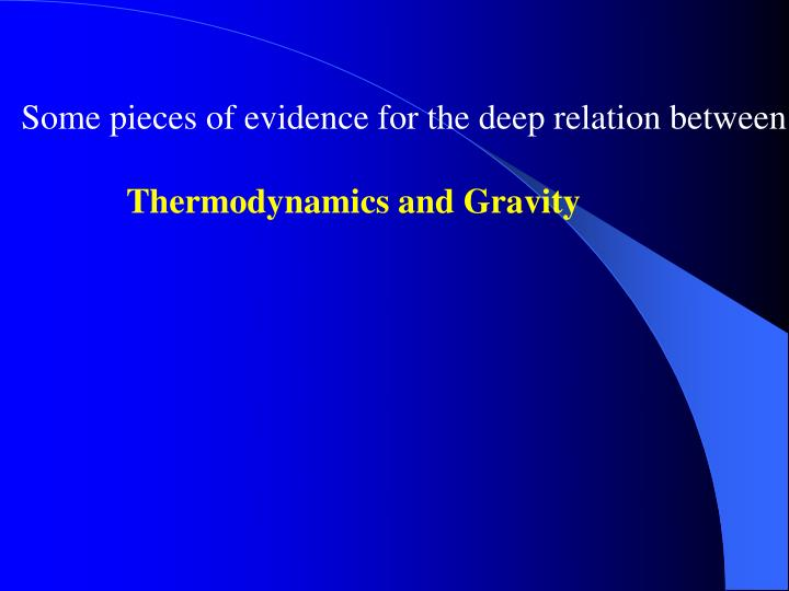 Some pieces of evidence for the deep relation between