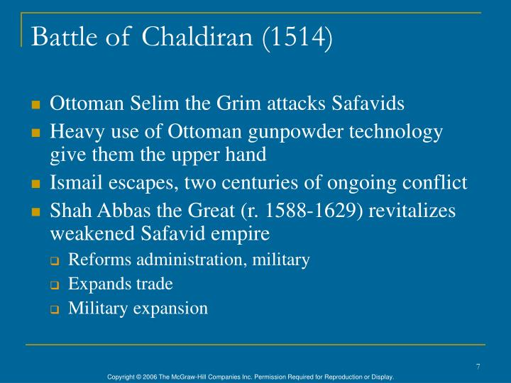 Battle of Chaldiran (1514)