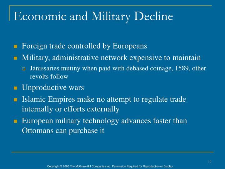 Economic and Military Decline