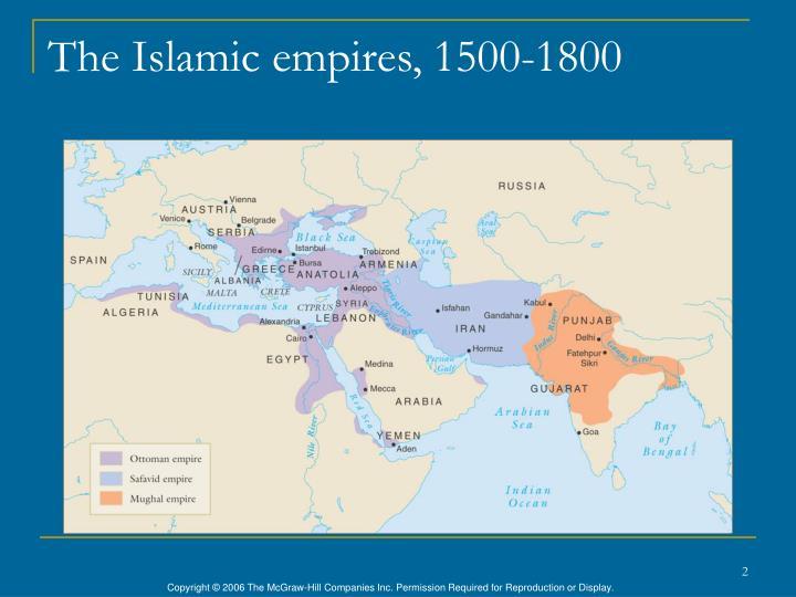 The islamic empires 1500 1800