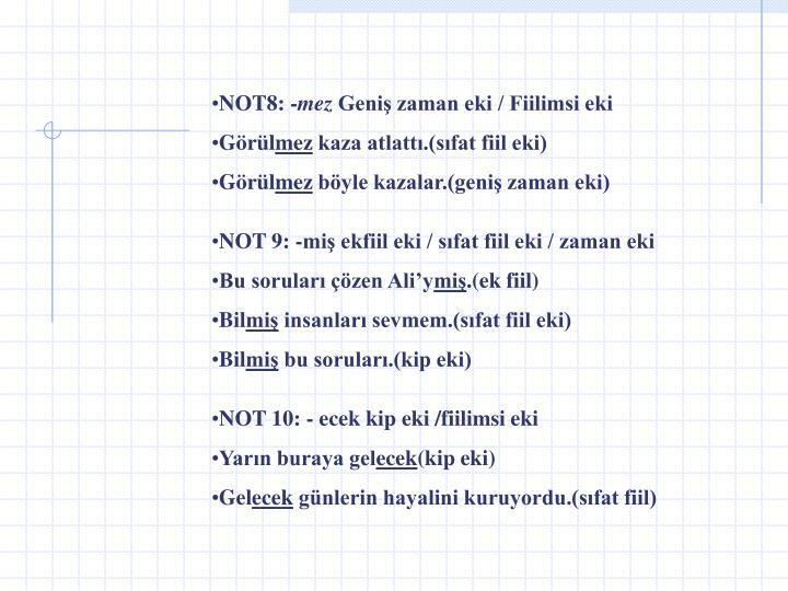 NOT8: -