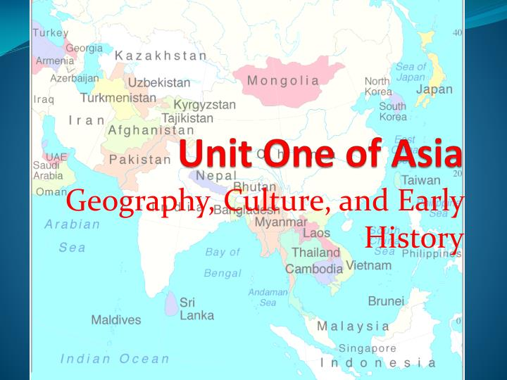 unit one of asia n.